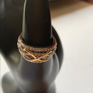 Jewelry - NWOT, Women's Two-Colored Marriage Ring, Size 8